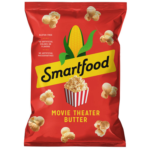 Smartfood Popcorn Movie Theater Butter Flavored Popcorn 7.5 oz. Bag