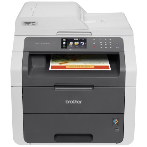 Brother Digital Wireless Color Laser All-In-One Printer, Scanner, Copier, Fax, MFC-9130CW
