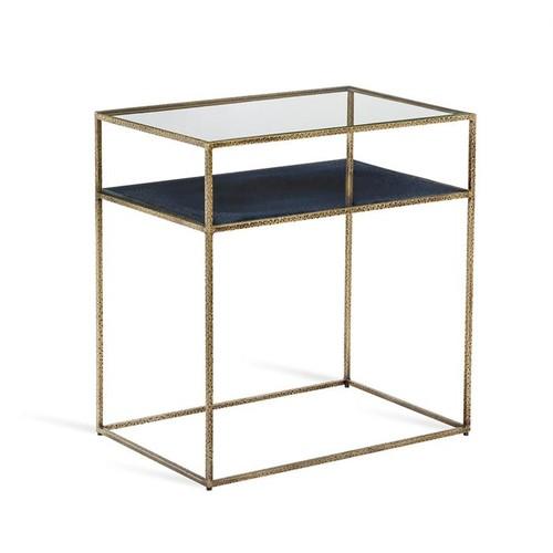 Maci Bedside Table - Iceberg design by Interlude Home