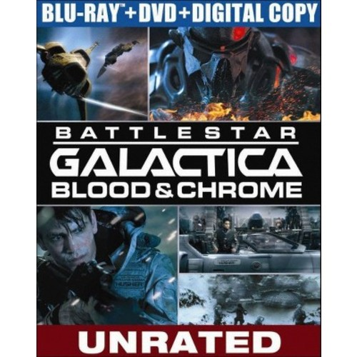Battlestar Galactica: Blood & Chrome (2 Discs) (Blu-ray/DVD) (W) (Widescreen)