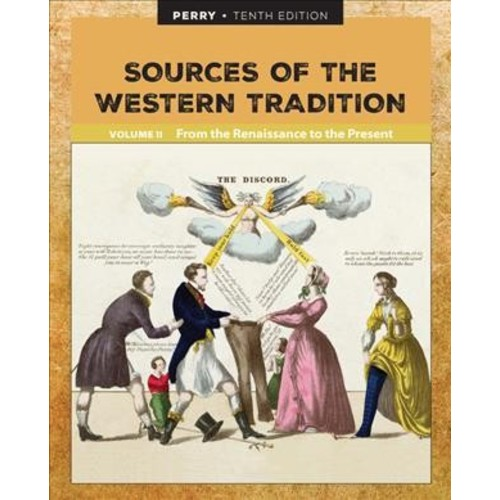 Sources of the Western Tradition : From the Renaissance to the Present (Vol 2) (Paperback) (Marvin