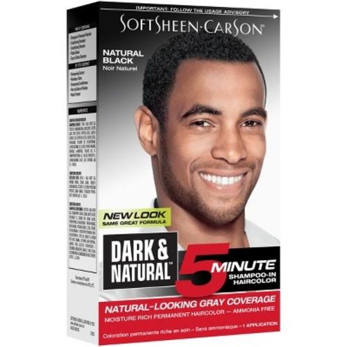Dark & Natural Men's Hair Color - Natural Black