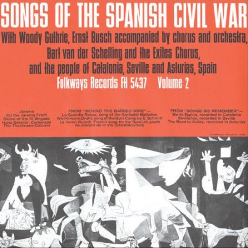 Songs Of The Spanish Civil War, Vol.