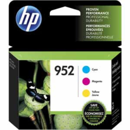 HP 952 Ink Cartridges - Cyan/Magenta/Yellow
