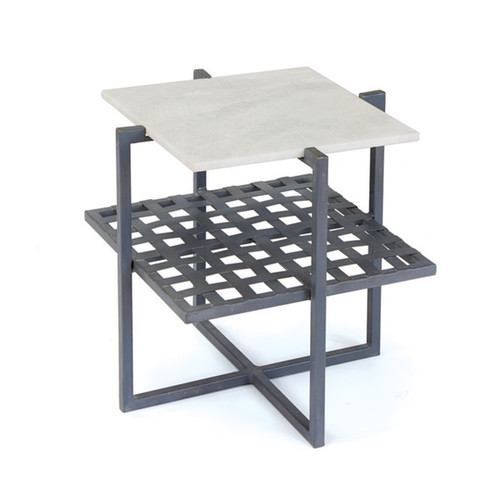 Chaise Iron Side Table