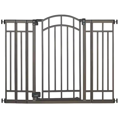 Summer Infant Multi-Use Deco Extra Tall Walk-Thru Gate, Bronze [Bronze]
