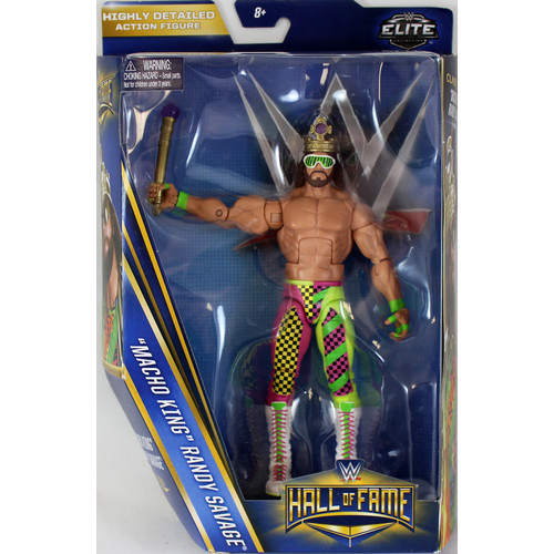 WWE Macho King Randy Savage - Hall of Fame 2016 Toy Wrestling Action Figure