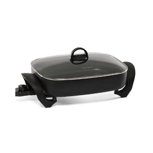West Bend 72215 Electric Extra-Deep Oblong 12-by-14.5-Inch Nonstick Skillet