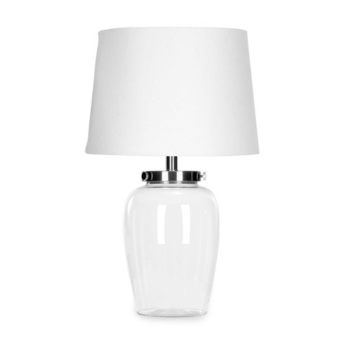 Harper Table Lamp by Safavieh | clear | Gilt