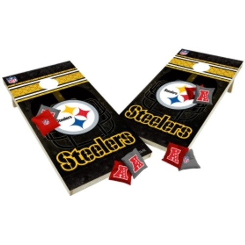 Wild Sports Pittsburgh Steelers XL Tailgate Bean Bag Toss Shields