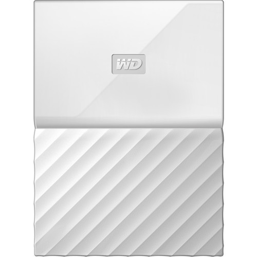 1TB My Passport USB 3.0 Secure Portable Hard Drive (White)