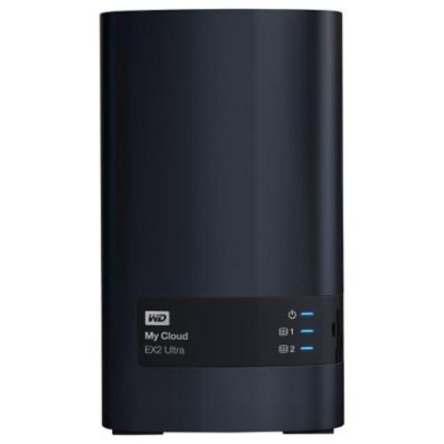 WD 4TB My Cloud EX2 Ultra Network Attached Storage, NAS (WDBVBZ0040JCH-NESN)