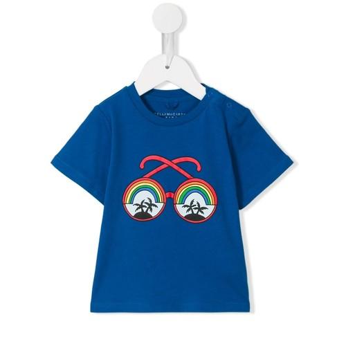 STELLA MCCARTNEY KIDS Sunglasses Print Chuckle T-Shirt