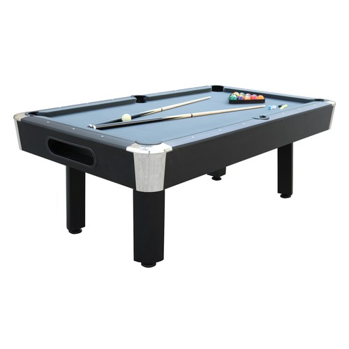 Sportcraft 7' Gray Billiard Table with Table Tennis Top