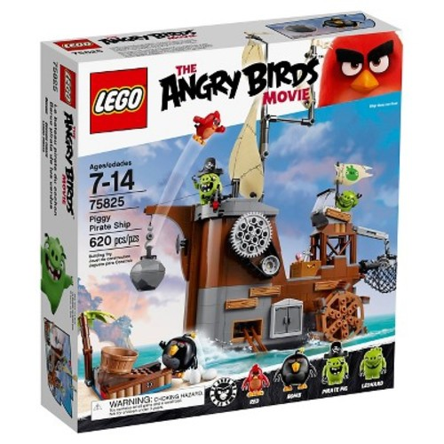 LEGO The Angry Birds Movie Piggy Pirate Ship (75825)