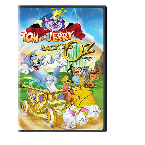 Tom and Jerry Back to Oz DVD