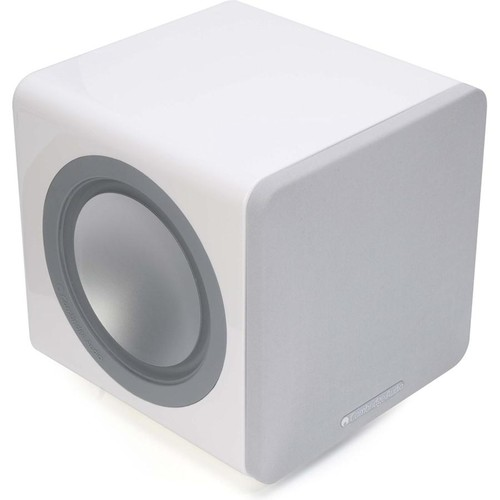 Cambridge Audio Minx X201 (White) Ultra-compact powered subwoofer