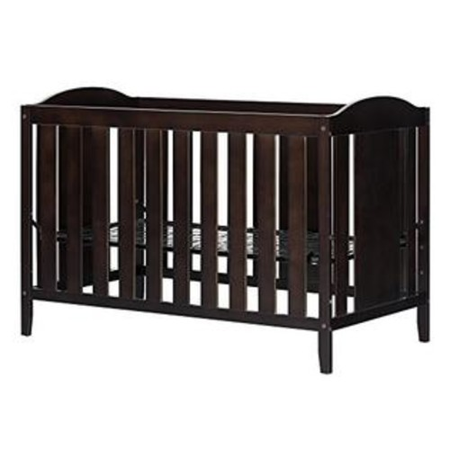 South Shore Crib and Toddler Bed, Espresso