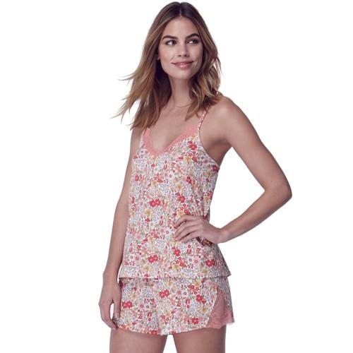 Women's Flora by Flora Nikrooz Wildflower Knit Cami & Shorts Set