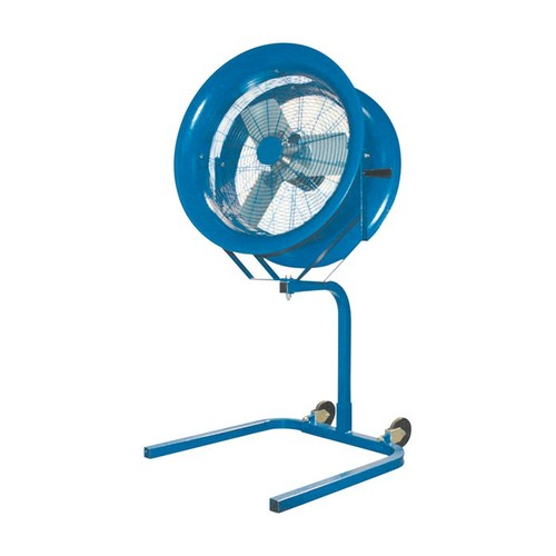 Patterson Portable High-Velocity Fan  22in. Dia., 1/2 HP, Model# H22A + PS BLUE