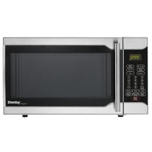 Danby Designer 0.7 cu. ft. Countertop Microwave in Stainless Steel