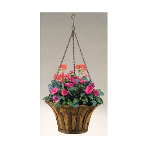Solera 15 in. Metal Basket with Coco Liner