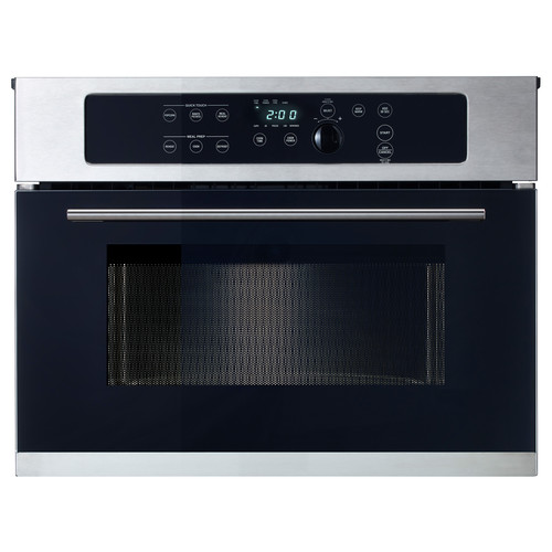 NUTID Microwave oven, Stainless steel
