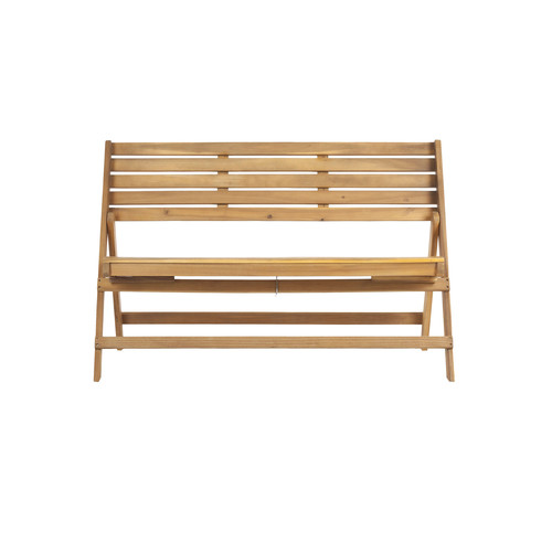 Fabrice Outdoor Folding Bench