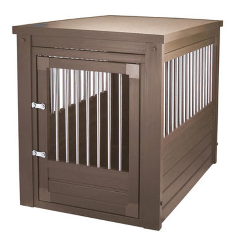 Dog Crate with Table Top [Select A color : Russet]