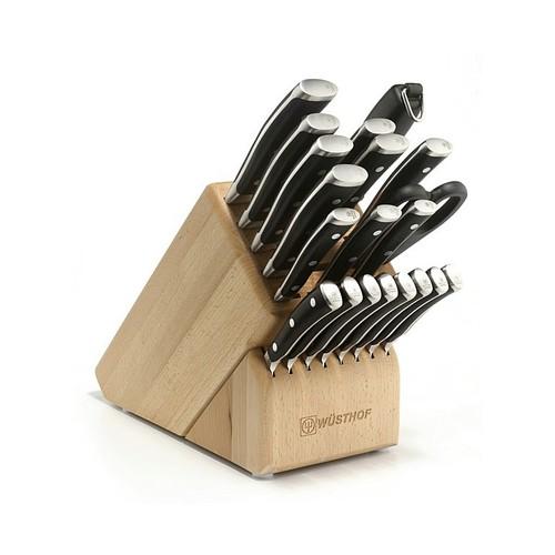 Wusthof Classic Ikon - 22 Pc. Knife Block Set