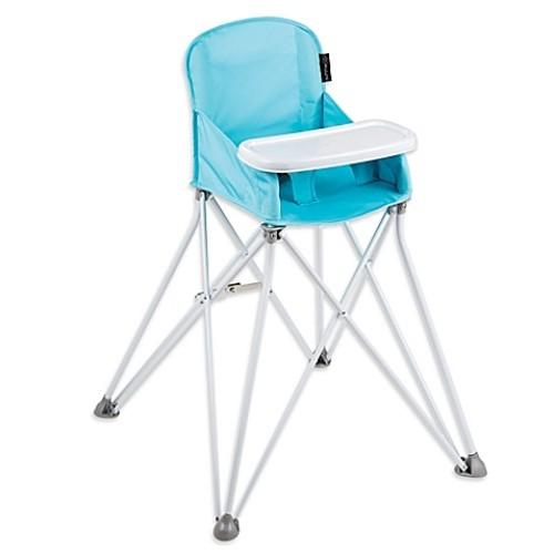 Summer Infant Pop N' Sit Portable High Chair in Aqua