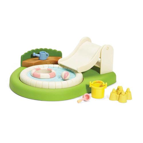 Calico Critters Baby Pool & Sandbox Playset
