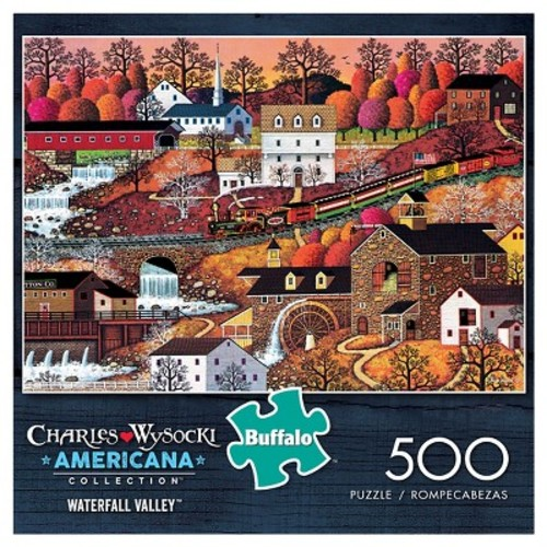 Buffalo Games The Cambridge Americana Jigsaw Puzzle - 500-Piece