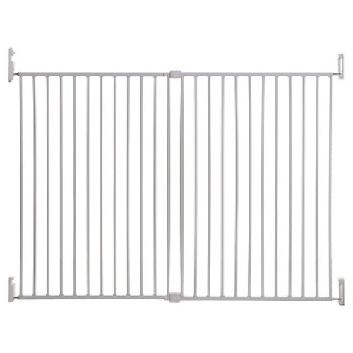 Dreambaby Broadway 30-53 inch Extra Tall Gro-Gate with Track-It Technology - White