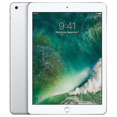 Apple 9.7 iPad Wi-Fi 128GB (Latest Model) - Silver
