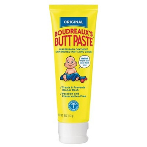 Boudreaux's Paste Diaper Rash Ointment - 4 oz