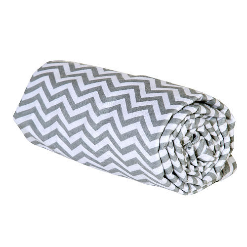 Trend Lab Flannel Swaddle Blanket - Gray Chevron