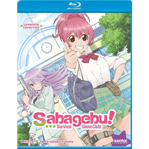 Sabagebu!: Survival Game Club - Complete Collection [Blu-ray]