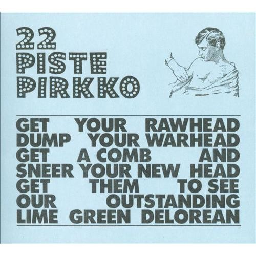 Lime Green Delorean [CD]