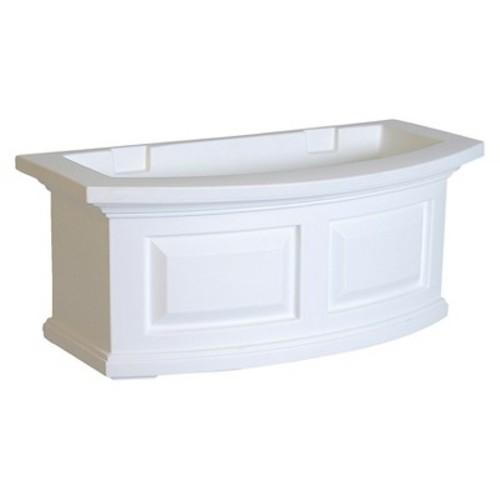 Nantucket Window Box 2FT White