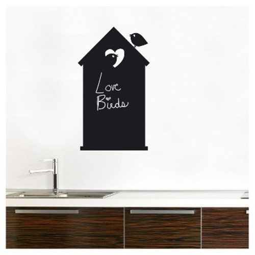 Love Shack Wall Decal - Black