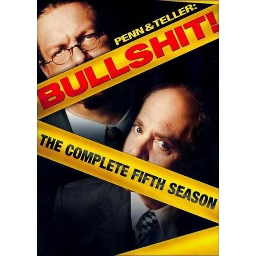 Penn & Teller: Bullshit! - The Complete Fifth Season [2 Discs] [DVD]
