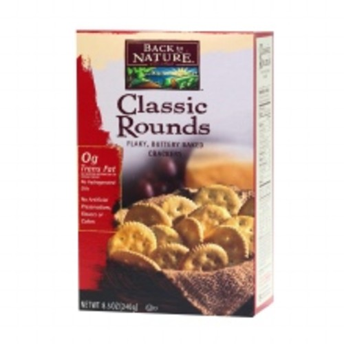 Back to Nature Classic Rounds Crackers