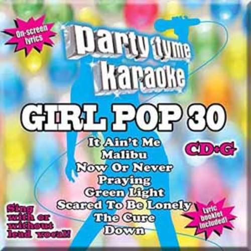 Party Tyme Karaoke: Girl Pop, Vol. 30 [Audio CD]