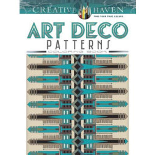 Creative Haven Art Deco Patterns Coloring Book