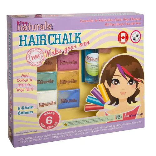 Kiss Naturals DIY Hair Chalk Making Kit