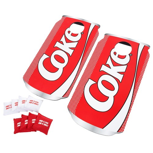 Coca-Cola Can Bean Bag Toss Game