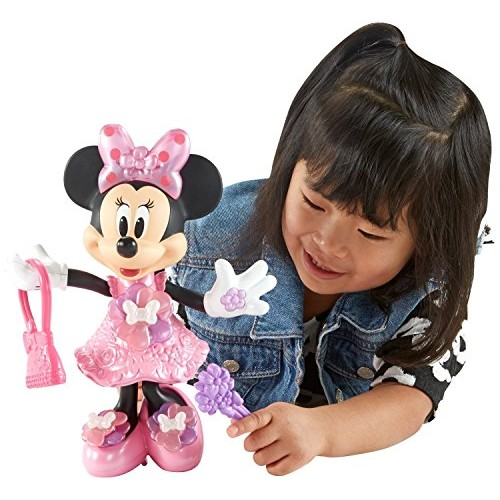 Fisher-Price Disney Minnie, Mouse Bloomin' Bows Minnie