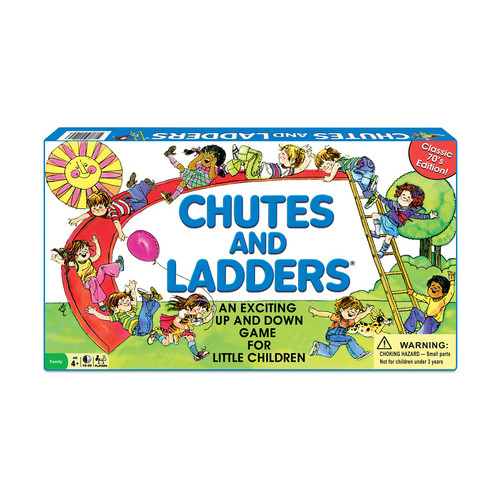 Winning Moves Games Classic Chutes and Ladders