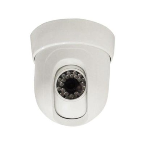 SeqCam Wired Pan and Tilt Dome Indoor/Outdoor Security Camera